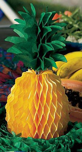 Tissue Pineapple Centerpiece