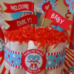Dr Seuss Twin baby shower theme