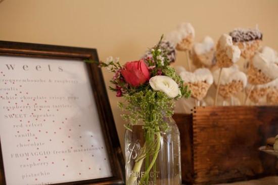 Whimsical Vintage Baby Shower florals