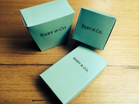 free tiffany blue baby shower boxes