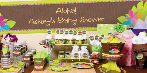 luau-themed-baby-shower-idea