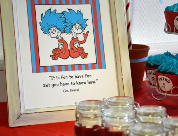 Thing 1 Thing 2 Twins Baby Shower Baby Shower Ideas