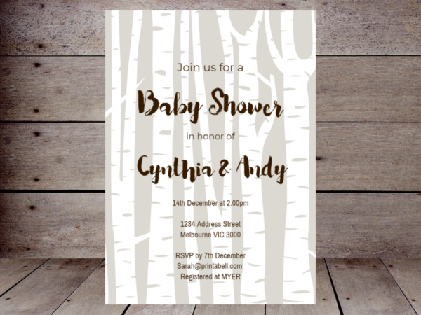 woodland-birch-tree-baby-shower-invitation-editable