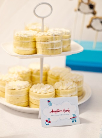 A Surprise Dream Baby Shower dessert table