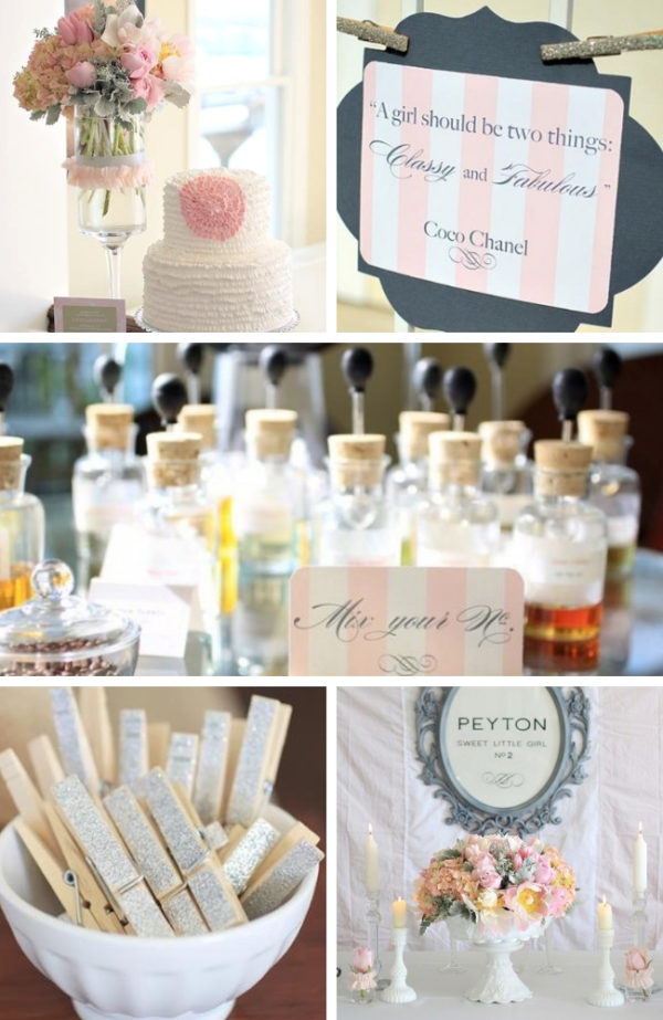 modern-chanel-inspired-baby-shower