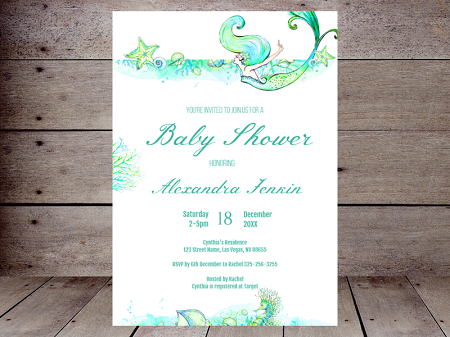 editable-elegant-mermaid-baby-shower-invites