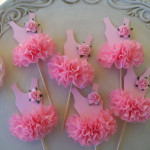 Ballerina Tutu Cupcake Toppers : ETSY Find