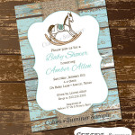 Rocking Horse Baby Shower Ideas