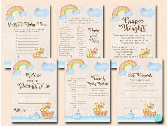 twins-noahs-ark-baby-shower-game-printable-instant-download-1