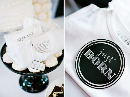 black-and-white-baby-shower-first-birthday-ideas