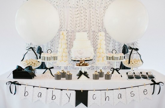 black-and-white-baby-shower-ideas-decorations