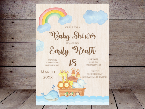 editable-twin-noahs-ark-baby-shower-invitation
