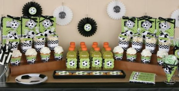 soccer baby shower ideas
