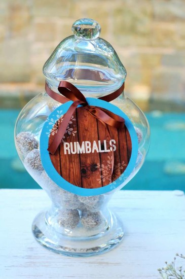 Baby It's Cold Outside Baby Shower food rumballs