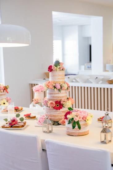 Boho Chic Inspired Baby Shower table setting