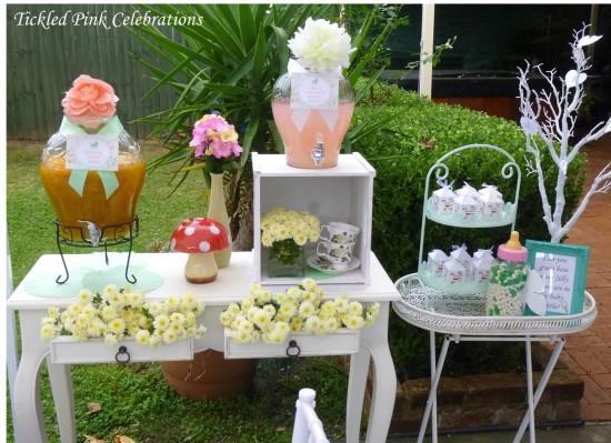 Enchanted Garden Baby Shower decoration ideas