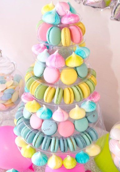 macaroons tower