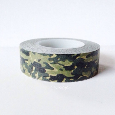 Camouflage Washi Tape Camo wedding Camo Baby Shower decor tape