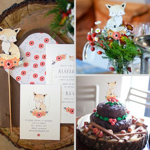 fox-baby-shower-theme-ideas