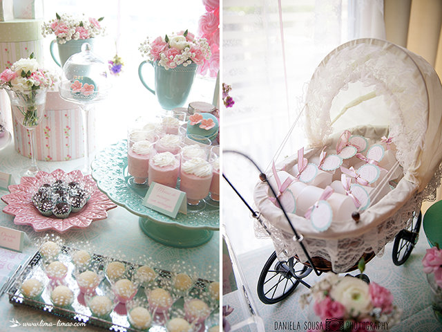 Vintage Pastel Baby Christening Baby Shower Ideas