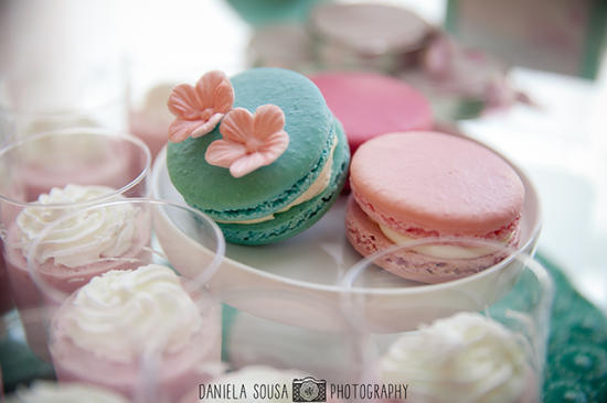 Vintage Pastel Baby Christening treats