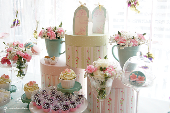 Vintage Pastel Baby Shower ideas