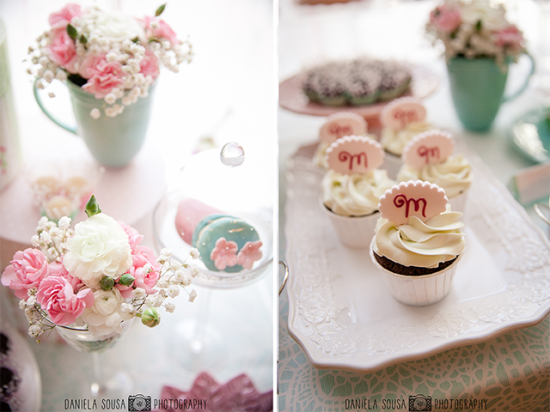Vintage Pastel Baby Shower inspiration