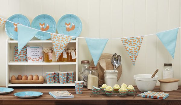 fox-baby-shower-decoration-supplies