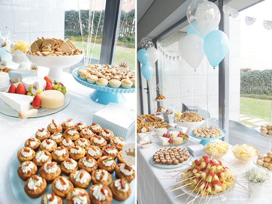 little prince baby shower ideas food table