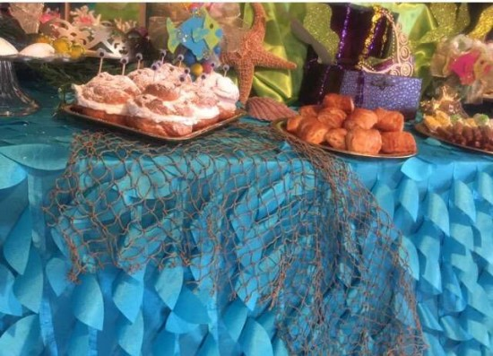 under the sea baby shower decoration ideas, creature bread