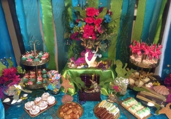 under the sea baby shower food table ideas
