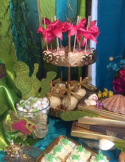 under the sea baby shower ideas, shells