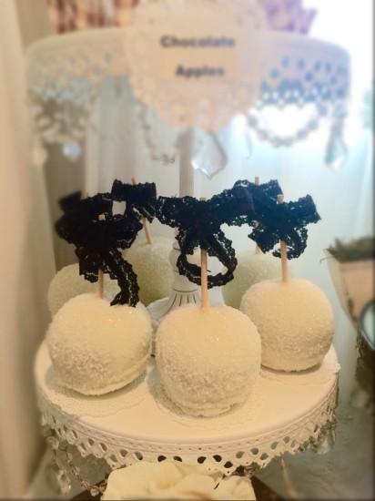 Elegant Shabby Chic Shower cakepops