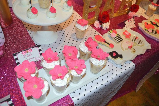 Kate Spade Inspired Baby Shower desserts