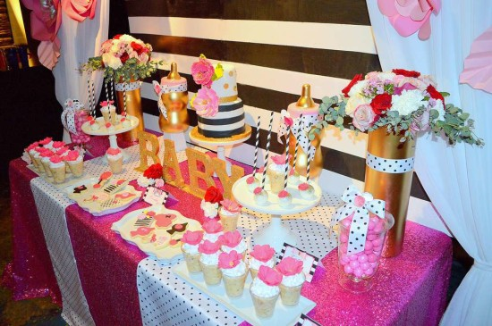 Kate Spade Inspired Baby Shower ideas
