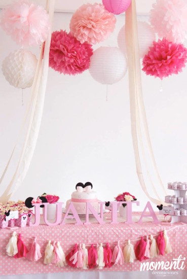 Pink Minnie Mouse Baby Shower ideas