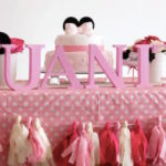 Pink Minnie Mouse Baby Shower