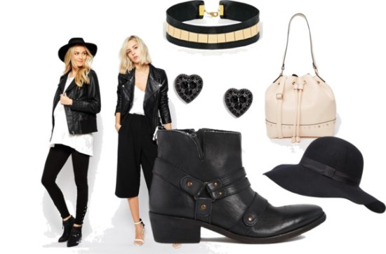 maternity in black for baby shower
