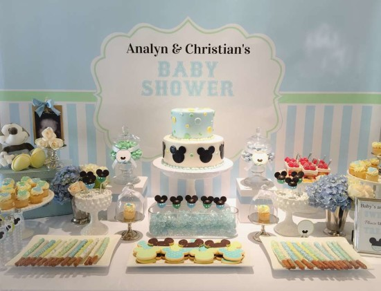 Baby Mickey Mouse Baby Shower ideas