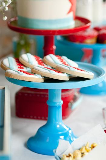 Chicago Baby Shower cookies idea