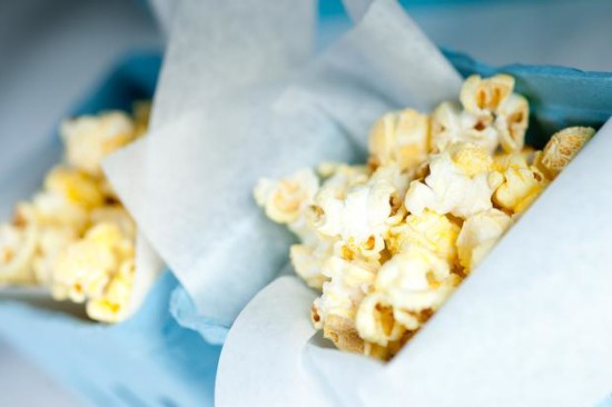 Chicago Baby Shower popcorn