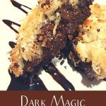 Coconut Dark Magic Triangles Recipe