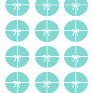 Free Tiffany Circle Toppers