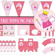 Free Peppa Pig baby shower package