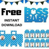Free Boss Baby party package
