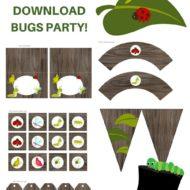 Free Bugs Printable