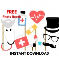 Free Doctor Nurse Printable Photobooth Props