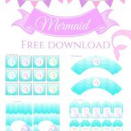 Free Mermaid Printable