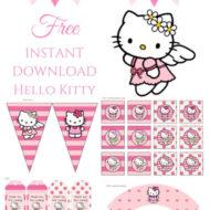 Free Hello Kitty Party printable