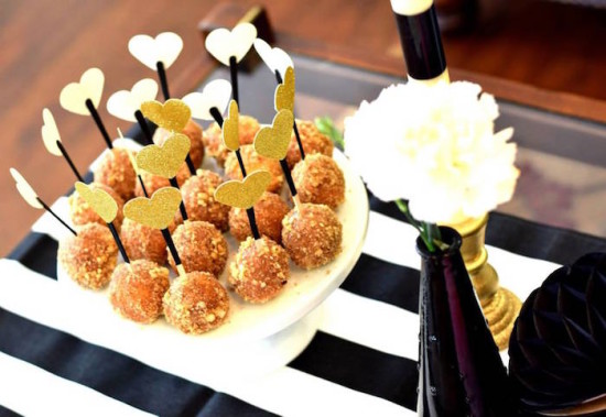 Glam Baby Shower food ideas